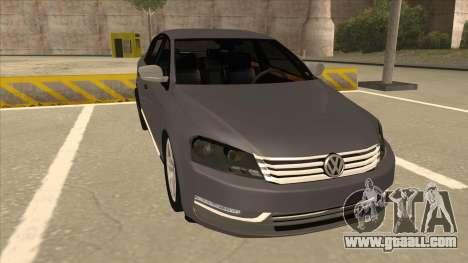 Volkswagen Passat 2.0 Turbo for GTA San Andreas left view