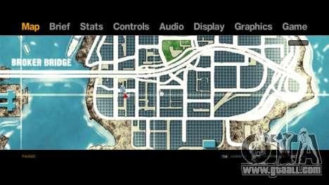 Map-Radar-HUD Pack for GTA 4 third screenshot