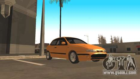Fiat Bravo 16v for GTA San Andreas back view