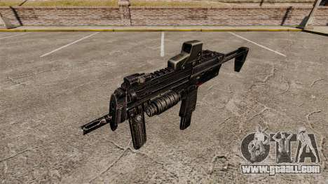 HK MP7 submachine gun v1 for GTA 4 third screenshot
