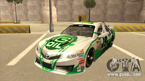 Toyota Camry NASCAR No. 19 G-Oil for GTA San Andreas