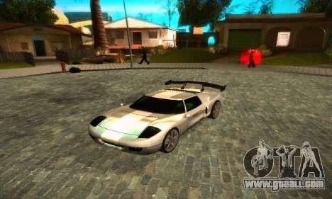 Bullet GT32 Big Spoiler for GTA San Andreas