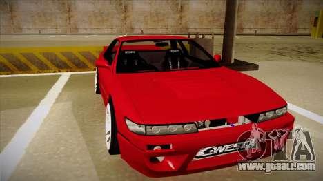 Nissan Silvia S13 Rocket Bunny for GTA San Andreas left view