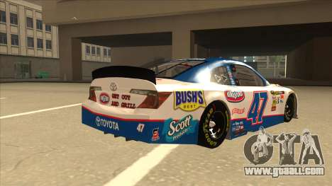 Toyota Camry NASCAR No. 47 Kingsford for GTA San Andreas right view