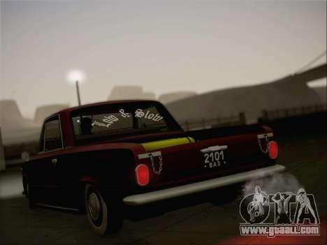 VAZ 2101 Resto for GTA San Andreas interior