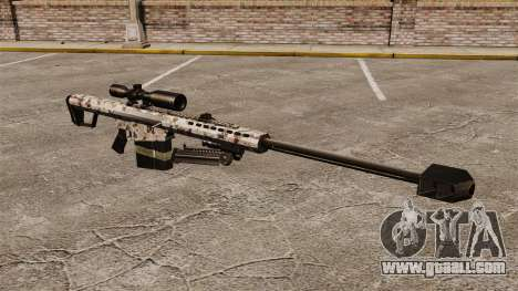The Barrett M82 sniper rifle v5 for GTA 4