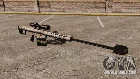 The Barrett M82 sniper rifle v5 for GTA 4