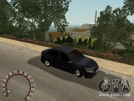 VAZ 2190 for GTA San Andreas back left view