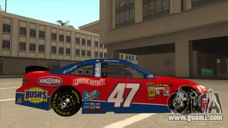 Toyota Camry NASCAR No. 47 House-Autry for GTA San Andreas back left view