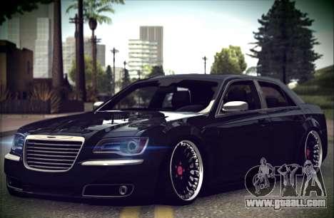 Chrysler 300C Stance for GTA San Andreas