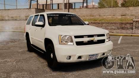 Chevrolet Tahoe Slicktop [ELS] v1 for GTA 4