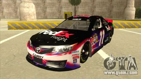 Toyota Camry NASCAR No. 11 FedEx Freight for GTA San Andreas