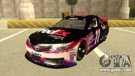 Toyota Camry NASCAR No. 11 FedEx Freight for GTA San Andreas