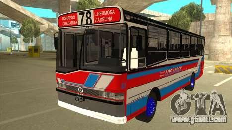 Mercedes-Benz OHL-1320 Linea 78 Los Andes for GTA San Andreas