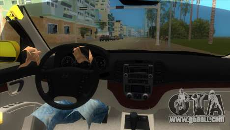 Hyundai Santa Fe 2006 for GTA Vice City right view