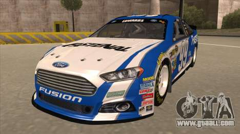 Ford Fusion NASCAR No. 99 Fastenal Aflac Subway for GTA San Andreas