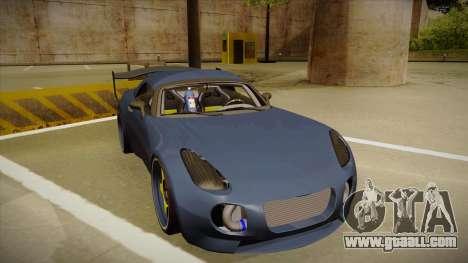 Pontiac Solstice Rhys Millen for GTA San Andreas left view