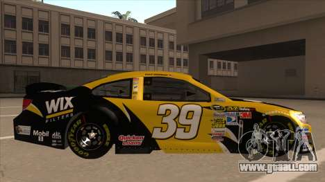 Chevrolet SS NASCAR No. 39  Wix Filters for GTA San Andreas back left view
