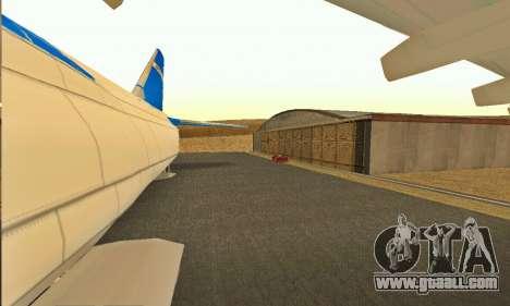 Andromada GTA V for GTA San Andreas back view