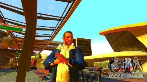 Jeans jacket Trevor of GTA V for GTA 4