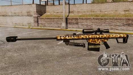 The Barrett M82 sniper rifle v10 for GTA 4 third screenshot