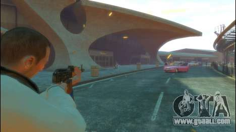 AKS-47 for GTA 4 fifth screenshot