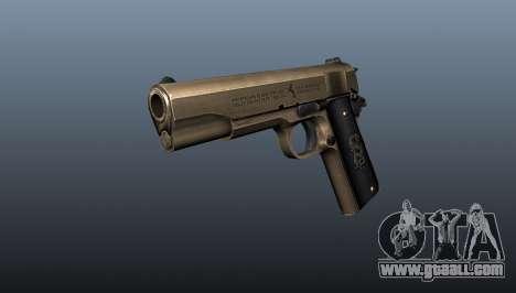 Pistol M1911 v2 for GTA 4