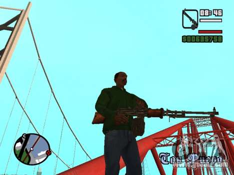 Light machine gun (RAP) [citation needed] for GTA San Andreas third screenshot