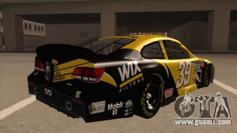 Chevrolet SS NASCAR No. 39  Wix Filters for GTA San Andreas right view