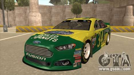 Ford Fusion NASCAR No. 34 Peanut Patch for GTA San Andreas
