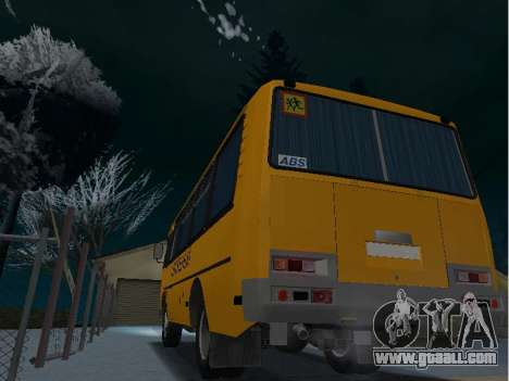 GROOVE 32053-70 School for GTA San Andreas left view