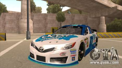 Toyota Camry NASCAR No. 47 Scott for GTA San Andreas