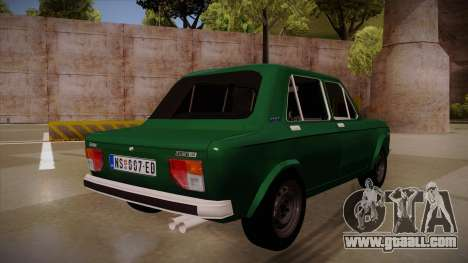 Zastava 128 1995 for GTA San Andreas back view