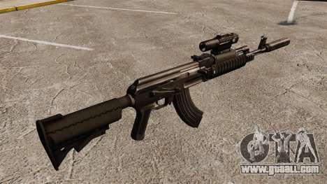 AK-47 (tactical) for GTA 4 second screenshot