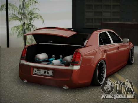 Chrysler 300C Stance for GTA San Andreas right view