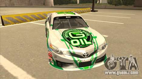 Toyota Camry NASCAR No. 19 G-Oil for GTA San Andreas left view