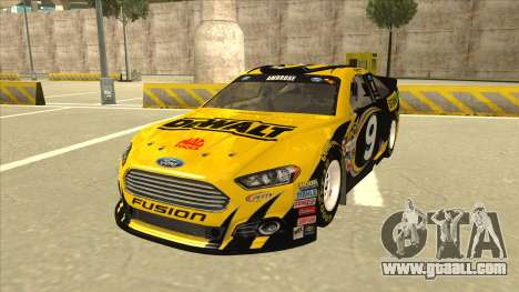 Ford Fusion NASCAR No. 9 Stanley DeWalt for GTA San Andreas