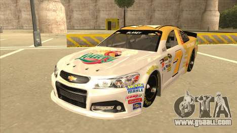 Chevrolet SS NASCAR No. 7 Florida Lottery for GTA San Andreas