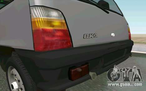 Kamaz Oka for GTA San Andreas back view
