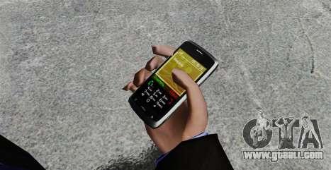 Communicator ZTE Blade for GTA 4 second screenshot