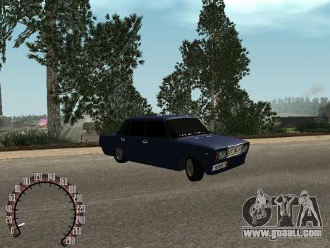 VAZ 2107 BPAN for GTA San Andreas left view