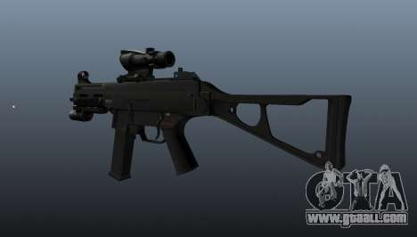 UMP45 submachine gun v1 for GTA 4 second screenshot