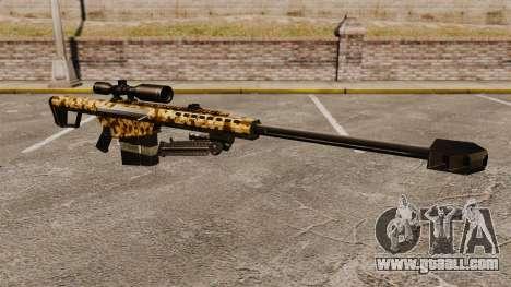 The Barrett M82 sniper rifle v10 for GTA 4