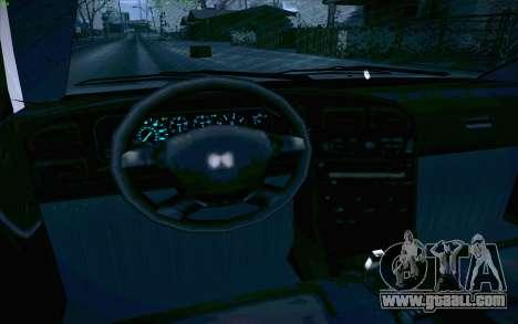Honda Accord Wagon for GTA San Andreas interior