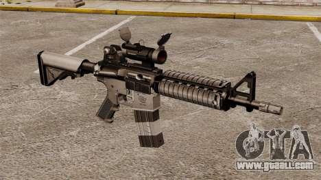 Automatic carbine M4 CQBR v2 for GTA 4