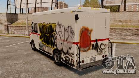 New graffiti to Boxville for GTA 4 right view