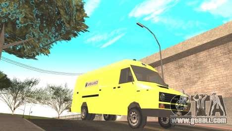Iveco Daily 35 I minibus 1978 for GTA San Andreas right view