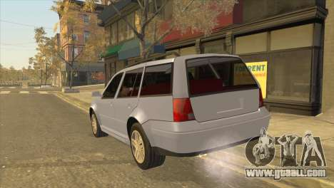 Volkswagen Jetta Wagon for GTA San Andreas left view