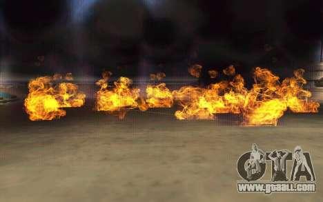 GTA V to SA: Realistic Effects v2.0 for GTA San Andreas third screenshot