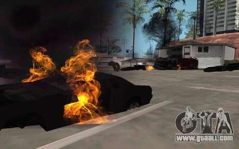 GTA V to SA: Realistic Effects v2.0 for GTA San Andreas second screenshot